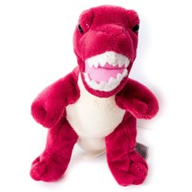 "T-Rex Dino Plush 6"" Red Tyrannosaurus Rex Unipak Small Stuffed Animal Toy - $11.77"