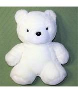"""Vintage Yang Jee White TEDDY Bear 15"""" Best Friends Plush Stuffed KOREA A... - $32.69"""