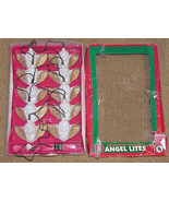 ANGELS - Angel Christmas Lites - Set of 10 Mini Lights with Angel Covers - $12.99