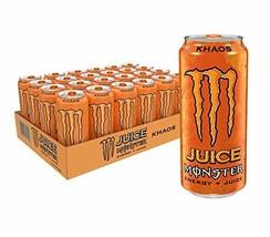 Juice Monster Khaos, Energy Drink, 16 Ounce Pack of 24 - $43.83