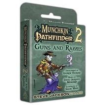 Steve Jackson Games Munchkin Pathfinder 2 Guns and Razzes Card Game - $24.21