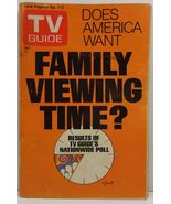 TV Guide Magazine December 6, 1975 Family Viewing Time - $2.99