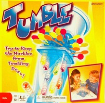 TUMBLE GAME MARBLE ACTION TOY BY PRESSMAN FACTORY SEALED - $7.95
