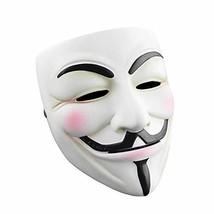 RASTPOAL Halloween Masks V for Vendetta Mask, Anonymous/Guy Fawkes for 2... - $18.09
