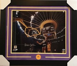 KAREEM ABDUL-JABBAR AUTOGRAPHED 16X20 FRAMED PHOTO W/ BECKETT COA LAKERS - $280.49