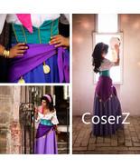 Custom-made Esmerelda Dress, Princess Esmerelda Cosplay Costume - £106.83 GBP