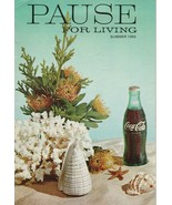 Pause for Living Summer 1969 Vintage Coca Cola Booklet Party Pronto Cont... - $5.93