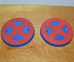 """MARVEL LEGENDS X-MEN ACTION FIGURE BASE LOT 2003 TOYBIZ 6"""" COMICS ACCESS... - $10.80"""