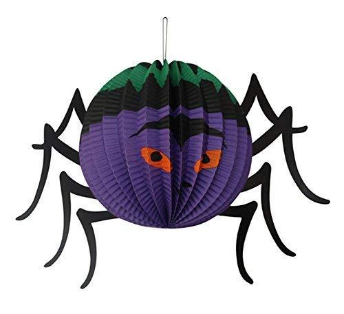 Koala Superstore Set of 5 Halloween Decorative Hanging Paper Lanterns (Stereo Sp