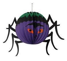 Koala Superstore Set of 5 Halloween Decorative Hanging Paper Lanterns (S... - £15.83 GBP