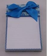 Hallmark SOM2605 Blue Floral Chic Memo Caddy - $17.99