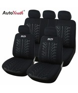 AutoYouth® Car Seat Cover Looped Fabric Universal Fit Most Vehicles Seat - $52.75