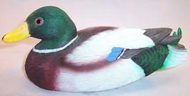 "Pre-Owned 8"" Mallard Duck Decoy Figurine - $9.99"