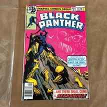 Black Panther Marvel 1st Series #13 1979 comic book in sleeve vintage 1497238004 - $12.50