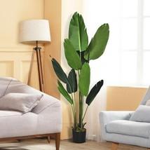 5 FT Artificial Decorative Tropical  Indoor-Outdoor Tree - $129.38