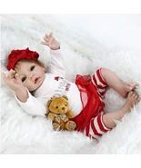 Worldorange Reborn Baby Dolls Vinyl Baby Doll, Cloth Body, Lifelike Moha... - $60.08