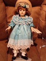"Porcelain Doll by Pauline Limited Edition 893/1500 1991 Applause ""Meredi... - $24.95"