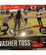 Wicked Big® Sports Washer Toss Backyard Games Includes Carry Case NEW - $43.65
