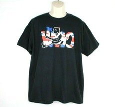 Vintage The Who Live In Concert 2007 Xl T Shirt Black Classic Rock - $23.88