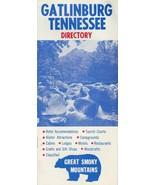 Vintage Travel Brochure Gatlinburg Tennessee Directory Accomodations Res... - $9.89