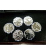 Marvel Bullion Coin Series Set of 6 Avengers 1oz of .9999 Fine Silver 6o... - $207.05