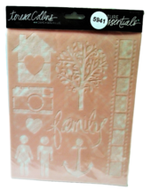 """Teresa Collins Essentials 3-Pack Stencils """"Family"""" - Multimedia - Card Making image 2"""