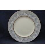 "Royal Doulton Qeensbury Bone China 6"" Bread Dessert Plate Blue White Leaves - $7.95"