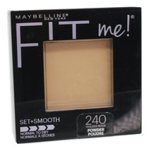 Maybelline New York Fit Me! Set+Smooth Golden Beige Pressed Powder 0.3oz Compact - $12.85
