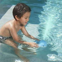 SwimWays Spouts Blue Whale Baby Kids Toddler Pool Bath Toy New w Tag image 2