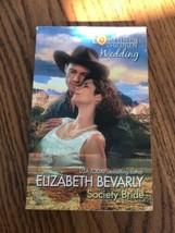 Elizabeth Bevarly Society Novia Libro en Rústica Ships N 24h - $23.87
