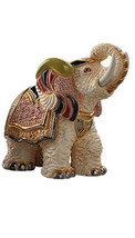 De Rosa Rinconada White Indian Elephant Figurine - $98.18