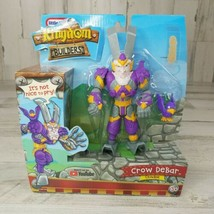 Little Tikes Kingdom Builders Crow Debar Action Figure Turns Into Crowba... - $12.60