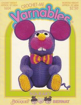 Squeaky, Bouquet Bernat  Mouse Crochet-Me Yarnables Pattern Booklet 1604... - $8.95