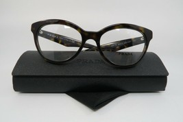 New Authentic Prada Eyeglasses VPR 11R 2AU-1O1 Shiny Havana Size 50mm w/... - $84.62