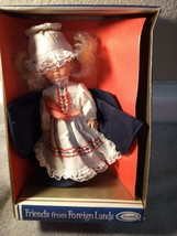 Friends Of Foreign Lands DOLL--MISS USA---UNEEDA--FREE SHIP--NEW - $15.47
