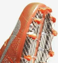 Nike Vapor Untouchable 3 Elite Football Cleats Orange White Size 11.5 AH7408-108 image 3