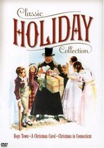Classic Holiday Collection Boys Town/Christmas Carol/Christmas Connecticut DVD