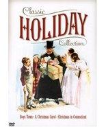 Classic Holiday Collection Boys Town/Christmas Carol/Christmas Connectic... - $12.95