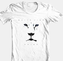 White Lion T-shirt Pride Album Cover 1980s heavy metal rock 100% cotton tee image 1