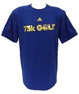 Golden State Warriors ADIDAS Men's 73K Gold T-Shirt Size 2XL - $34.64
