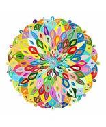 Bgraamiens Puzzle-Blooming Color-1000 Pieces Color Challenge Blue Board ... - $15.03