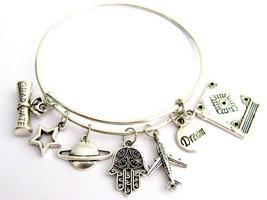 Custom Graduation Jewelry Graduation Charm Bracelet Personalized - $17.00