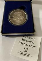 Alaska Iditarod 1996 Rare Vintage Medallion Silver Medallion Proof 1Oz B... - $118.79