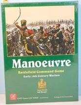 Manoeuvre Battlefield Command Early 19th Century Warfare GMT Games 2008 SHRINK! - $54.45
