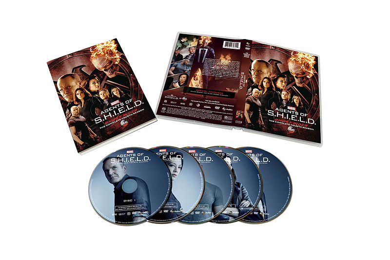 Marvel's Agents of S.H.I.E.L.D. Complete Season 4 DVD Set 5 Dsic Free Shipping