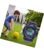Kids Watch Sport Multi Function Waterproof LED Alarm Stopwatch Wristwatch - £20.72 GBP