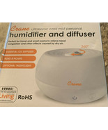 Crane Personal Cool Mist Humidifier & Difuser-8 Hr Run Time-Auto On/Off-... - $17.46