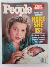 Magazine People 1989 June 19 Lisa Marie Presley Elizabeth Taylor Bill Wyman - $11.99