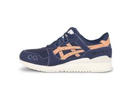Asics Mens Gel-Lyte III Shoes Blue/Tan H7E2N-4971 - $120.00
