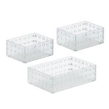 Like-it Bricks Stacking Bins Lg, White (set of 3) - $32.67